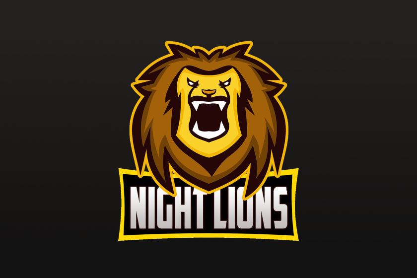 night lions